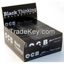 OCB Premium Kingsize Rolling Papers, Zig Zag Rolling Paper, Big Bambu Classic Rolling Papers