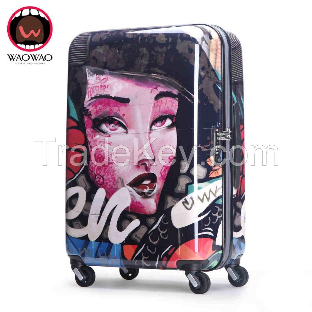 ABS PC hardshell travel luggage WAO053