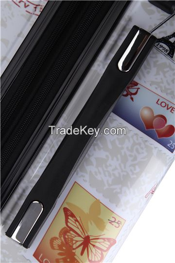 Superlight spinner travel luggage bags made in China