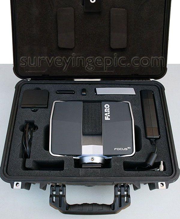 Focus3D S120 Laser Scanner set used