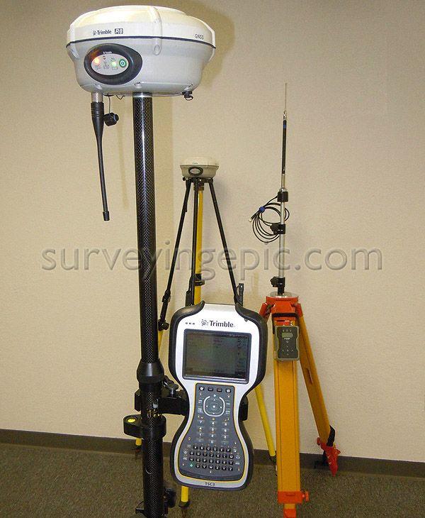 Trimble GNSS RTK R8 Model 3 set used