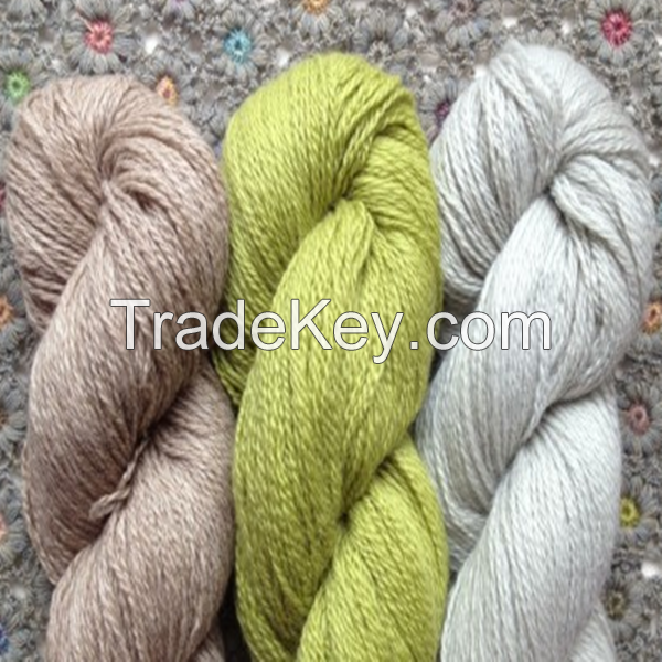 100% Pure Mongolia Cashmere Yarn with Multi-color