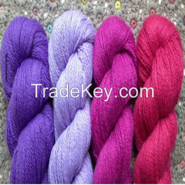 100% Pure Mongolia Cashmere Yarn for Sweater Knitting