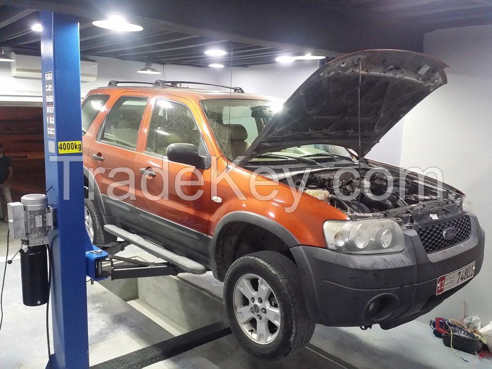 Two  post car lift SDN-TP-4.0 Auto hoist