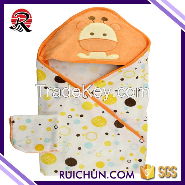 SGS High Grade Hooded Plain Baby Towel