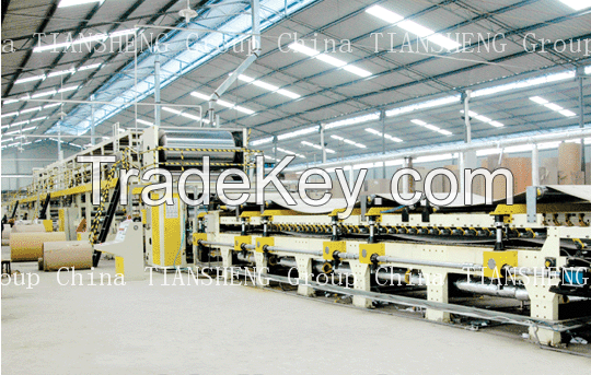 TSH Series Corrugated Cardboard Production Line