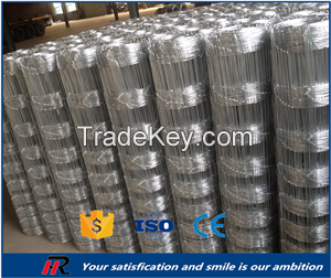 galvanized cattle/sheep/goat /hinge joint/field fence