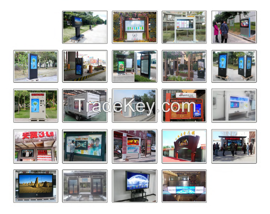 LCD advertising displayer/advertising player/digital signage/LCD kiosk/totem