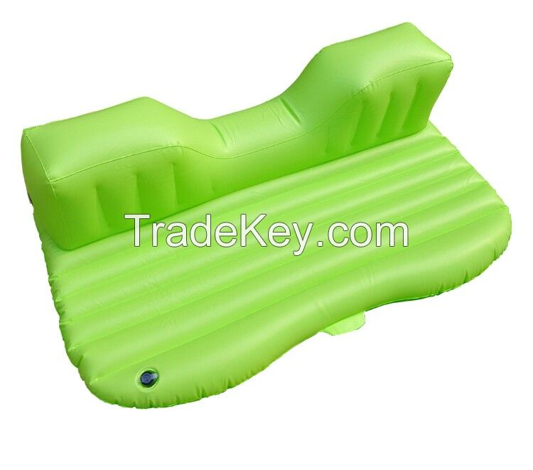 Flocked Inflatable Cushion in car