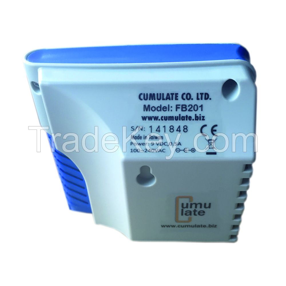 Cumulate- FB201- Carbon Dioxide (CO2) Indoor Air Quality Monitor with Data Logger