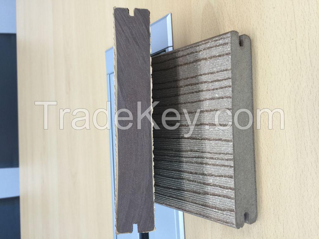 WPC pellet (granule) for extrusion molding.