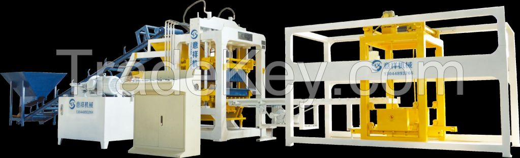 YXQT8-15Block Making Machine Brick Machine Interlock Block Making Machine pavement Block Machine