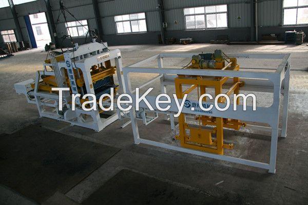 YXQT6-15Automatic Baking Free Brick Machine Line, Cement Block Making Machine, pavement block machine