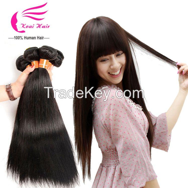 Raw Unprocessed Straight Virgin Peruvian Hair Dropship Hair Hair