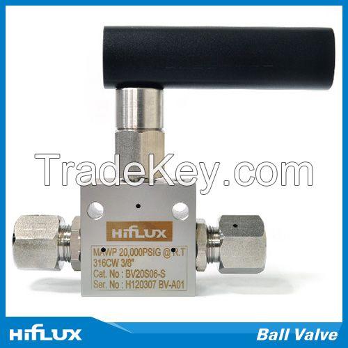 [HIFLUX] High Pressure Ball Valve
