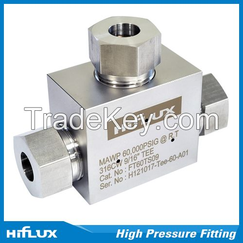 [HIFLUX] High Pressure Tube Fitting - Elbow, Tee, Cross