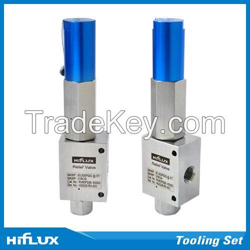 [HIFLUX] High Pressure Relief Valve - Factory Set 3000psi - 60000psi