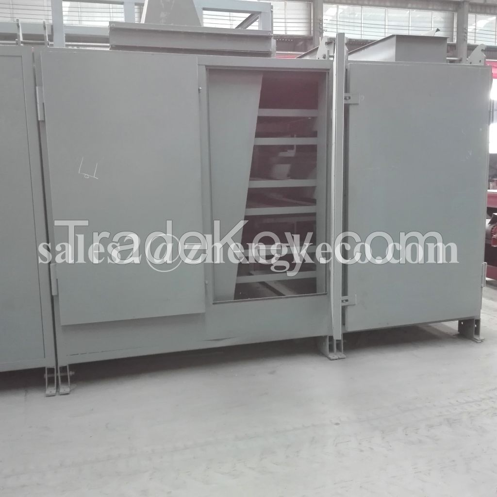 Good effect industry and agricultural mesh belt dryer equipment