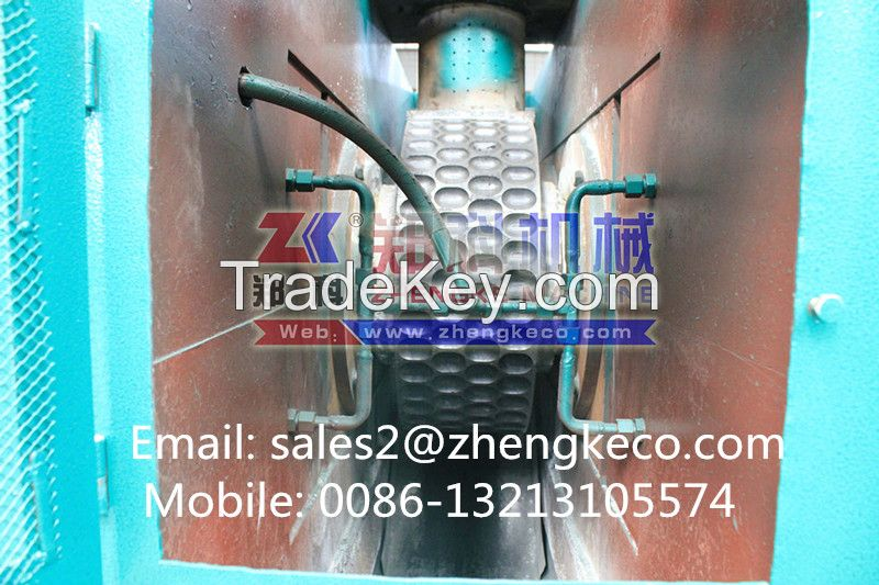 Hydraulic dry powder briquette machine