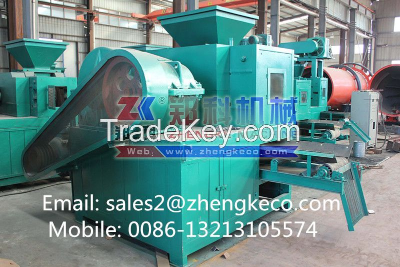 Widely used sawdust charcoal powder briquette machine