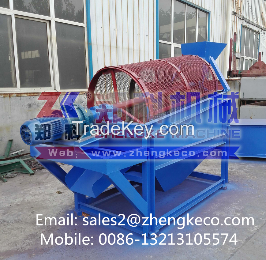 Small investment mining rotary screen equipment (Mobile: 0086-13213105574)