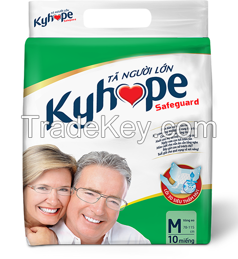 BREATHABLE ADULT DIAPER FROM KYVY CORPORATION