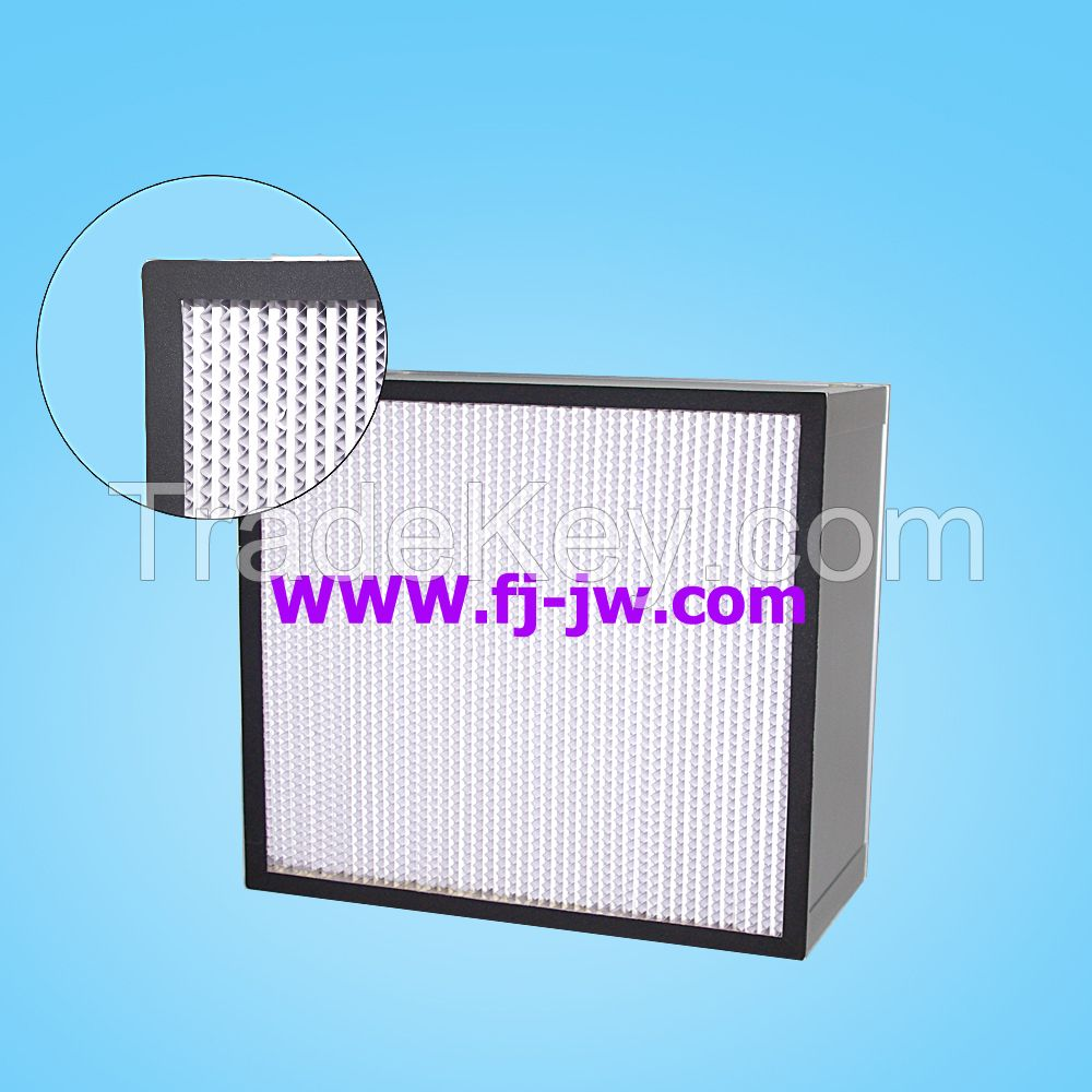 H10/ H11/ H12/ H13/ H14 High quality HEPA filter with separator