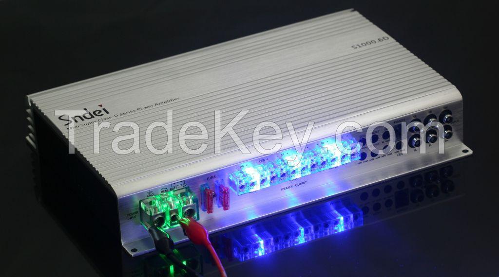 Sndei 5/6- Channel Class D Car Amplifiers