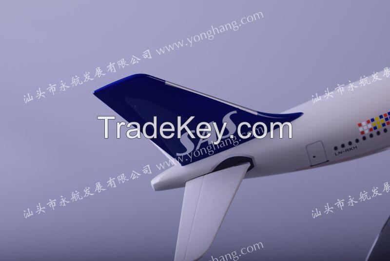 A330-300 resin plane model SAS