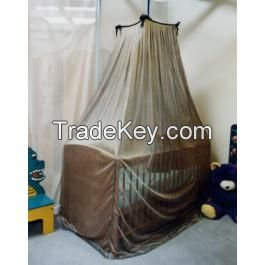 100% Silver Coated Nylon Mesh Fabric for Anti-Radiation Bed Canopy