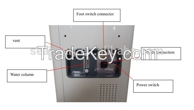 2016 Hottest CE approved safe and comfortable 2940nm ER Yag Laser