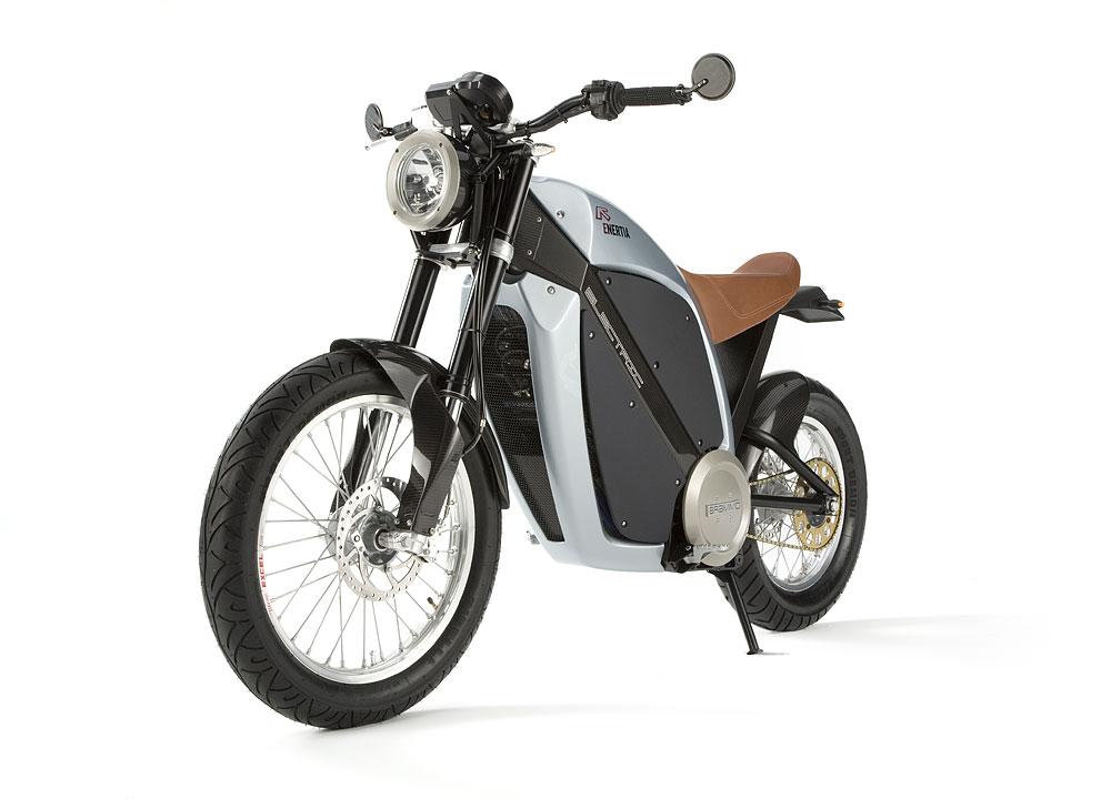 ENERTIA All Electric motorcycle