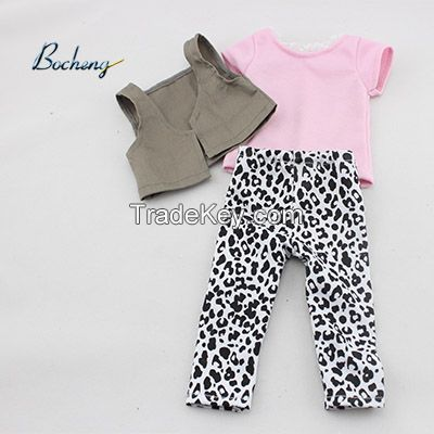 Bocheng doll clothing maufacturer 18 inch doll clothes