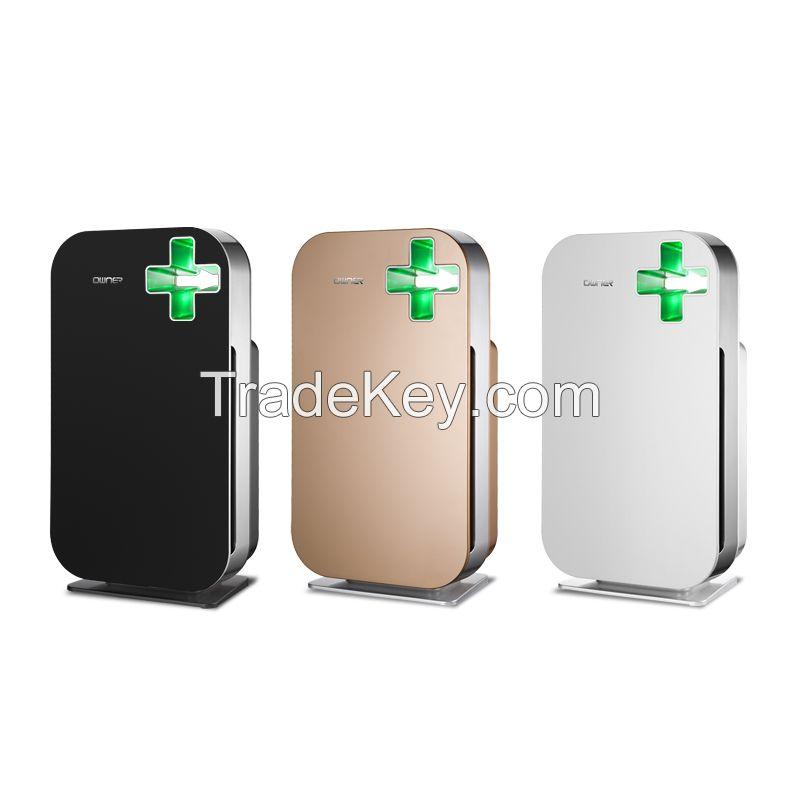 2016 fashion design smart air purifier