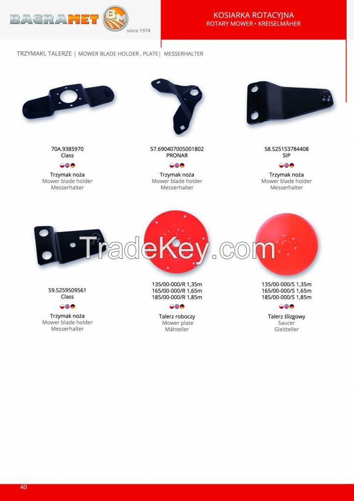 Rotary Mower parts - BAGRAMET