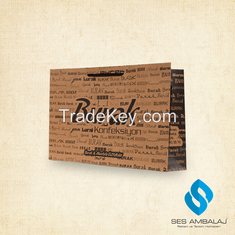 Paper Bags ( kraft, krome, c1s paper, one side coated paper)