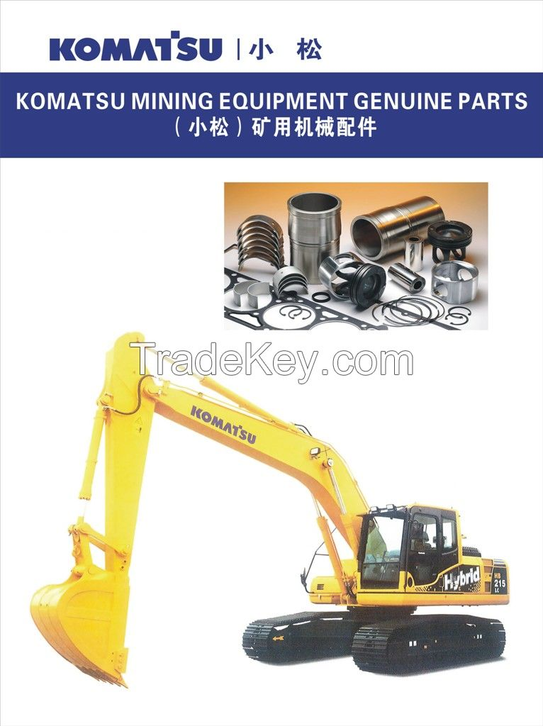 Komatsu Excavator parts