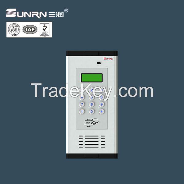 OEM price multi apartments handset audio door phone with clear voice