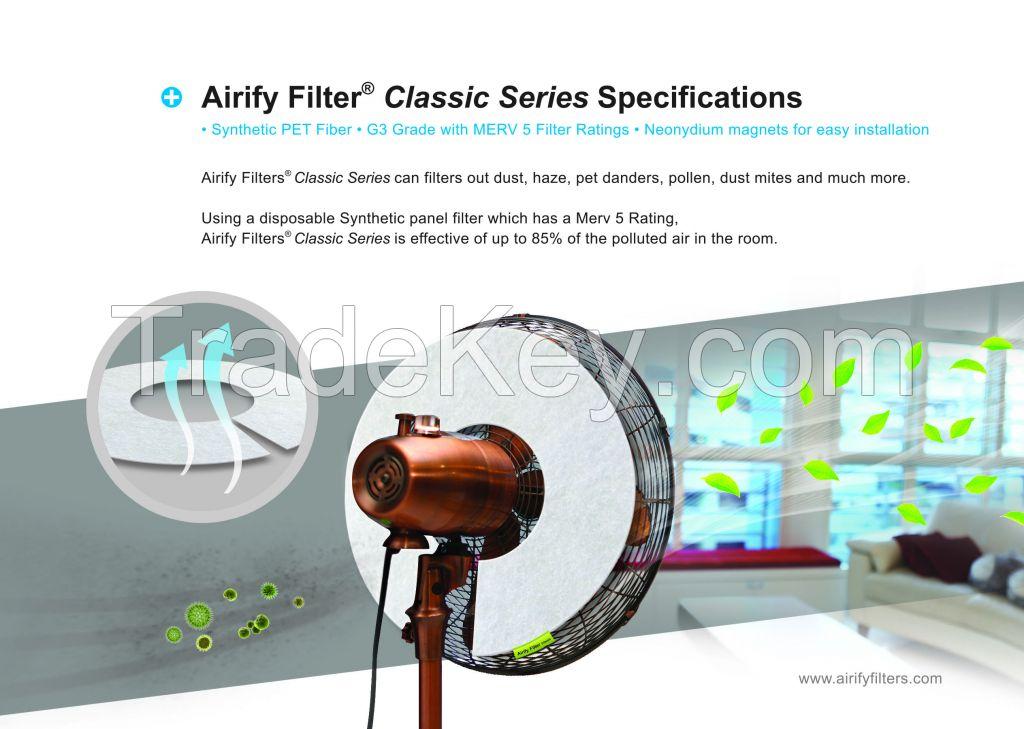 Airify Classic Air Fan Filter