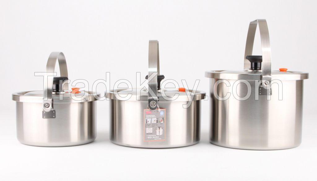 DADAMA Stainless Low Pressure Sealing Pot Series