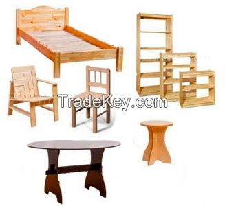 Furniture for bedroom, living room, kitchen, hallway office and countryhouse