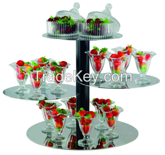Western Used Hotel Room Service Food Display Equipment For Sale