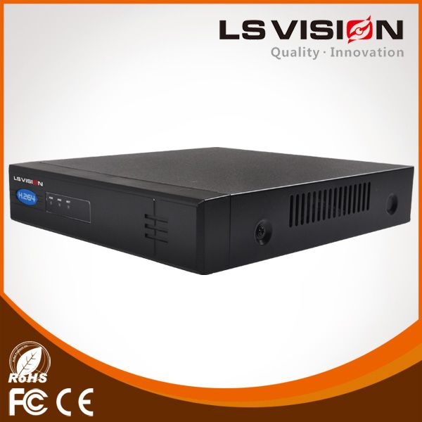 LS VISION 1080p ip camera poe nvr h.264  nvr (LS-NF7108P)