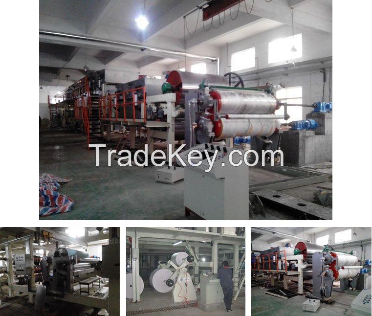 High speed thermal paper coating machine