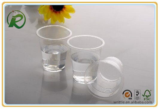 China supplier disposable custom printed plastic cups for cold drinks