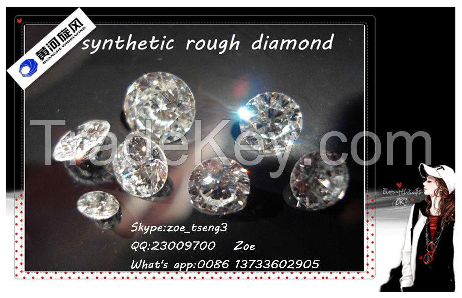 loose HPHT synthetic rough diamond