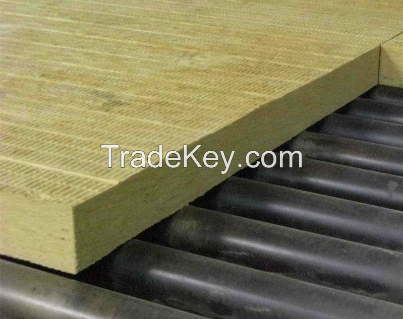 Rock Wool Board - Fire And Sound High Performance Panels