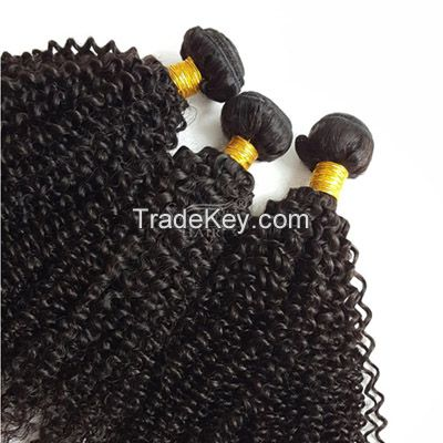 Brazilian/Malaysian/Peruvian/Indian Virgin Human Hair Weft 8A