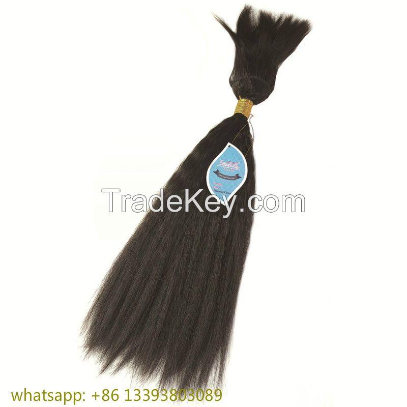 Braid In bundles 100% remy  human virgin hair
