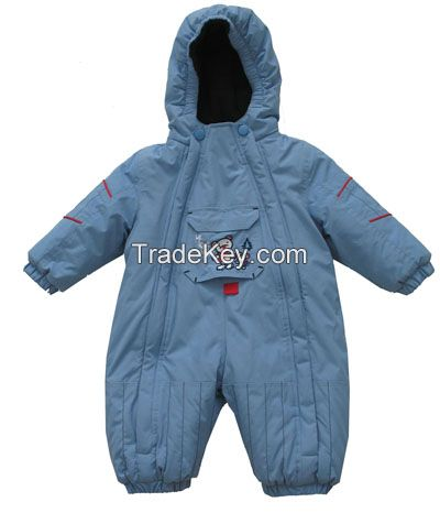 Hot Sell Performance Active Baby Winter Overall,Newborn Baby Junpsuit